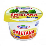 Small tub of Smietana yoghurt
