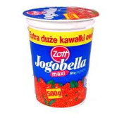 Large tub of Jogobella yoghurt